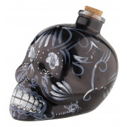 Decanter/bottle Day of the Dead, black - 0,7l