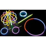 Nico glow sticks, colored, pack of 50
