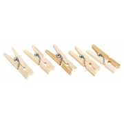 Mini clothes pins - 25mm (100 pcs.)
