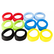 Silicone marker for squeeze bottles, multicolor - 6,3cm