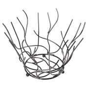 Fruit basket Web, black - 21x30cm