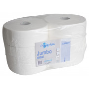 Jumbo Toilet paper, 2-ply - bright white (6 pcs.)
