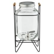 Glass dispenser with mount, Prime Bar - 4l