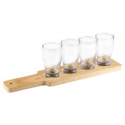 Craft Beer Tasting-Set with Paddle - 4 x 144ml