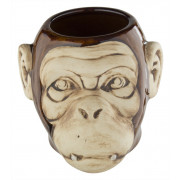 "Tiki mug ""Monkey"", shiny finish - 550ml"