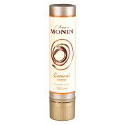 Caramel sauce for Latte-art, L'Artiste de Monin - 150ml