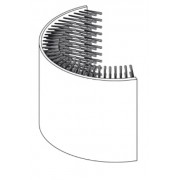 Delfin outer rim brush TS2100/3100