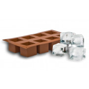 Ice tray, platinum-silicone cubes big (5cm)
