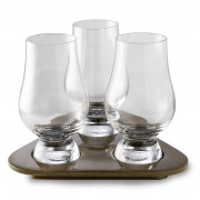 The Glencairn Whisky tasting set with three glasses, Stölzle Lausitz