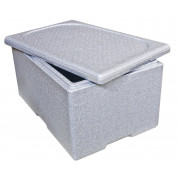 Thermobox EPS 60x40x33cm grey