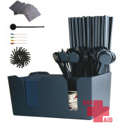 Bar Caddy, 6 cases - BAR AID set