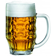 Beer mugs Malles, Bormioli Rocco - 660ml, 0,5l CM (6pcs)