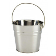Bucket, silver-coloured- stainless steel (2,1L)