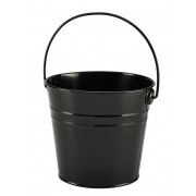Bucket, black - stainless steel (2,1L)