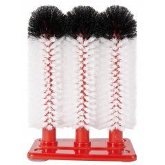 Glass cleaning brush extra fine (3x25cm)