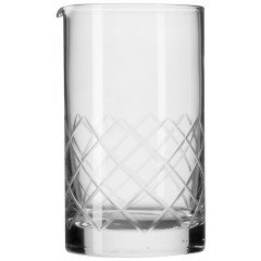 Mixing glass with spout, Urban Bar - 800ml (handsanded)