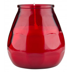 Storm lantern Twilight, Bolsius Professional - red (1pcs.)